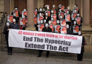 Alliance for Choice 40-Women per week travel out of N.Ireland for abrtions